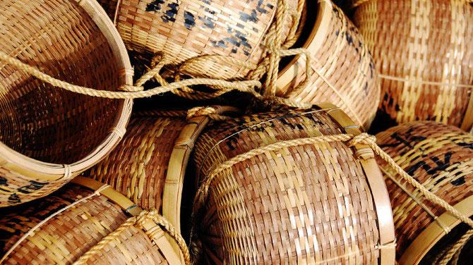 和束茶摘籠
