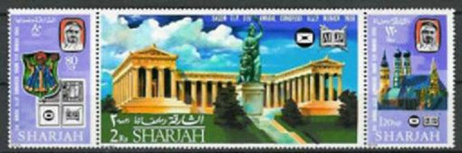 DE 1963 à 1970  L'EMIRAT A EMIS 252 TIMBRES et SERIES; 101 TIMBRES et SERIES POUR POSTE AERIENNE, 15 BLOCS-FEUILLETS, et 9 TIMBRES DE SERVICE (Sharjah & its Dependencies)