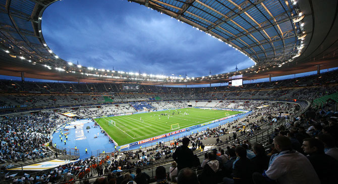 PARIS SAINT DENIS. STADE DE FRANCE.