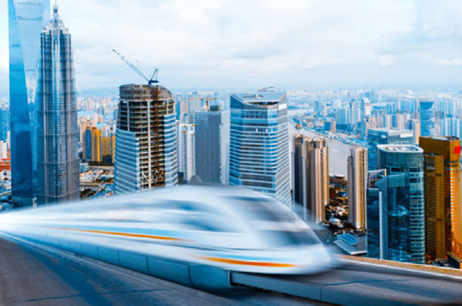 LE MAGLEV : MAGNETIC LEVITATION TRAIN