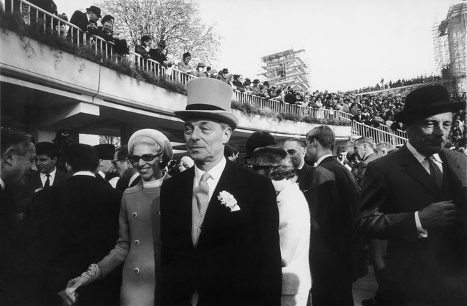 1966. LONGCHAMP. Photo  Bruno BARBEY