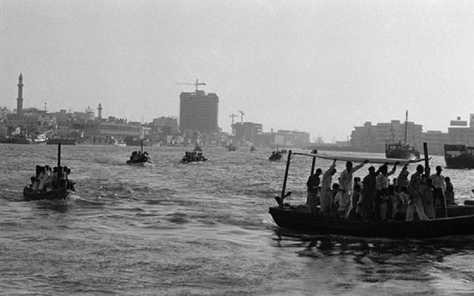 1968, ANNEE DE LA NAISSANCE DE MOHAMMED K. AL HABTOOR : BUR DUBAI CREEK