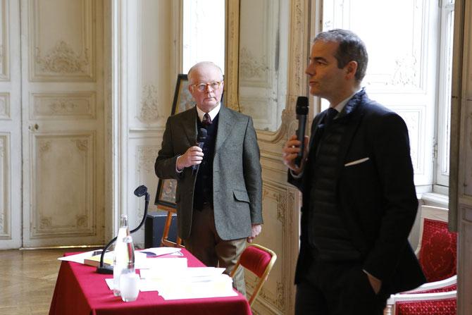 Paul-Henri GUERMONPREZ et Franck FERRAND, CONFERENCIER.  C* J - Philippe METSERS