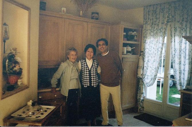 Samedi 3 Nov. 2001. GOLDIE, MAGUY et DIDIER MAIXANDEAU, LE POLYTECHNICIEN.