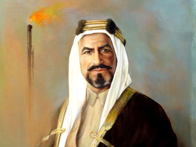S.A SHEIKH AHMAD AL-JABER AL-SABAH (1885 + 29 JANVIER 1950) 10ème EMIR DU KOWEÏT DU 22 FEVRIER 1921 AU 29 JANVIER 1950.