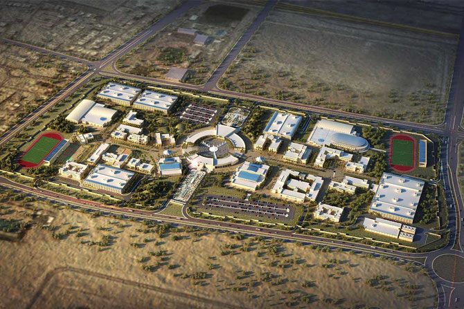 BASIC EDUCATION COLLEGE  à AL ARDIYA. 380.000m2  (SITE  504.000m2). COÛT : US$ 262,7  millions