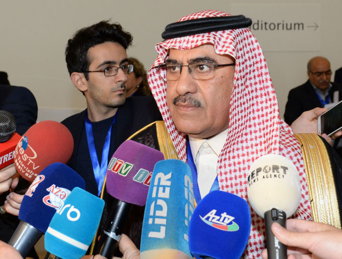 NOV. 2016. BAKOU  LE PT. DE LA SAUDI PRESS AGENCY  ABDULLAH  BIN FAHD AL HUSSEIN