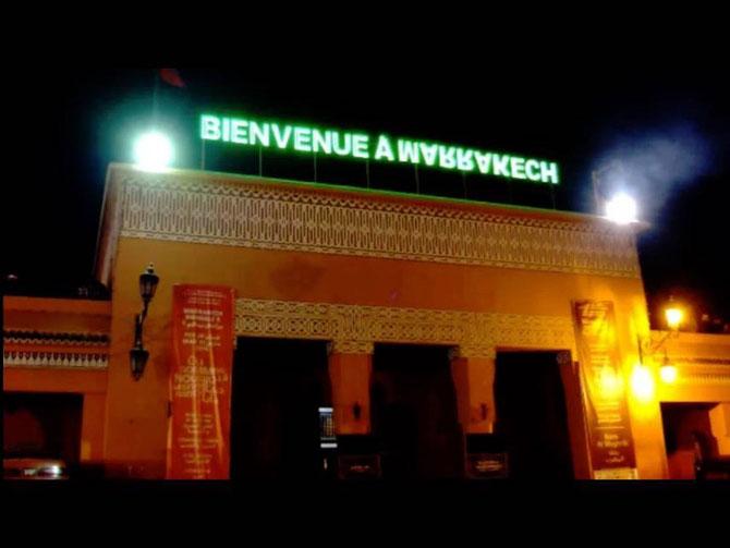 "HICHAM BENOHOUD et SA ""BIENVENUE A ....."" AU DESSUS DE LA BANK EL MAGHRIB PLACE JAMAA EL FNA."