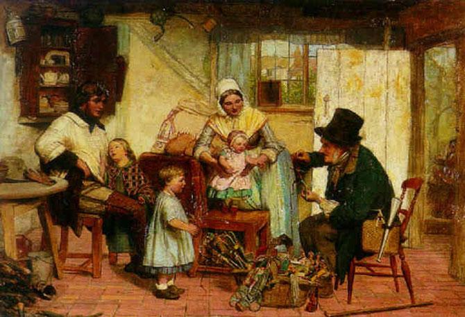 LE MARCHAND DE JOUETS : DAVID HENRY FRISTON (1820 + 1906)