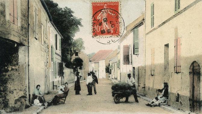 BUSSY SAINT GEORGES. ROUTE DE FERRIERES.