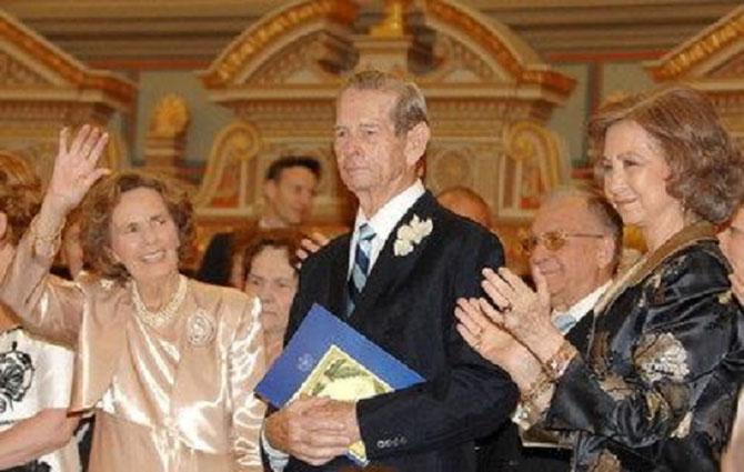 10 JUIN 2008. 60 ANS APRES LE ROI ET LA REINE FÊTENT  LEURS NOCES DE DIAMANT à BUCAREST