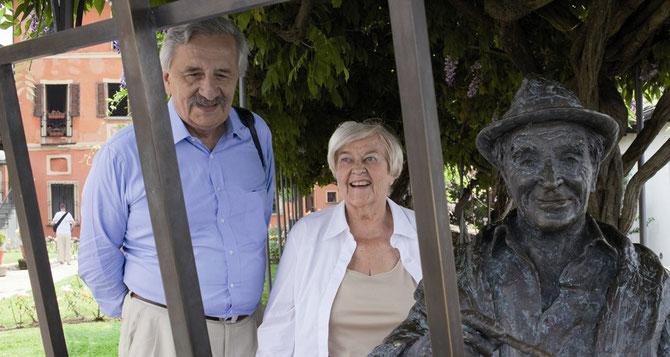 Pierre et Michèle  DUMON (décédée en Janvier 2017),  FONDATEURS DU MUSEE : L'ART DU MECENAT. C* LA PROVENCE