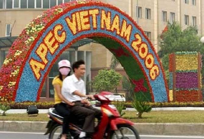 18 - 19 Nov. 2006 .  HANOI accueille le 14è Sommet de l'APEC - Asia-Pacific Economic Coopération -