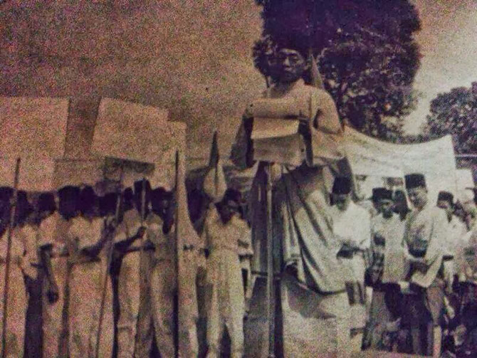 1951. KUALA LUMPUR. ELECTIONS UMNO 1951 / 1952