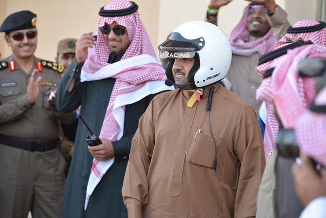 S.A.R. TURKI BIN ABDALLAH, Pilote de Jet; ici Pilote de courses automobiles.