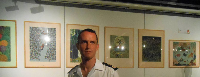 Le représentant de l'Amiral Charles-Henri GARIE Commandant des 2420 marins-pompiers de Marseille