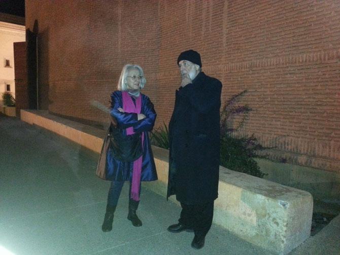 MB5. 27 FEVRIER 2014. YANNICK VU JAKOBER et MICHELANGELO PISTOLETTO, LE PAPE DE L'ARTE POVERA. C* YANNICK VU JAKOBER