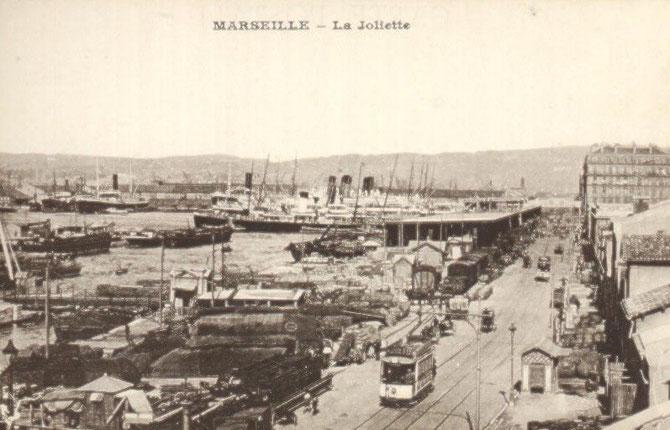 LA JOLIETTE DANS LES ANNEES 1920