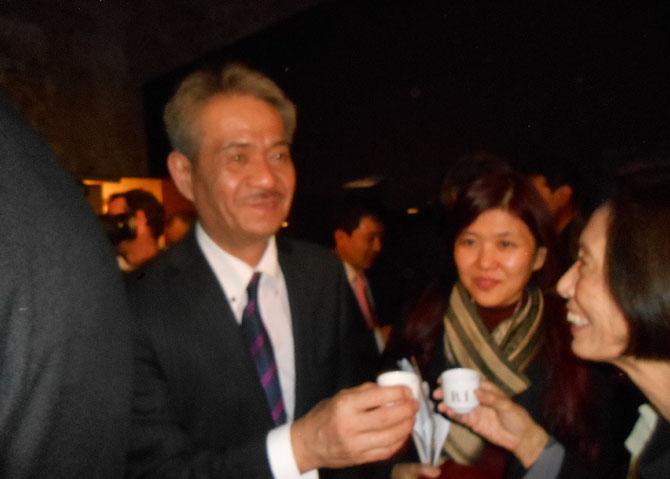 LE PRESIDENT DE L'ASSOCIATION des CERAMISTES DE KYOTO Shunji MORI