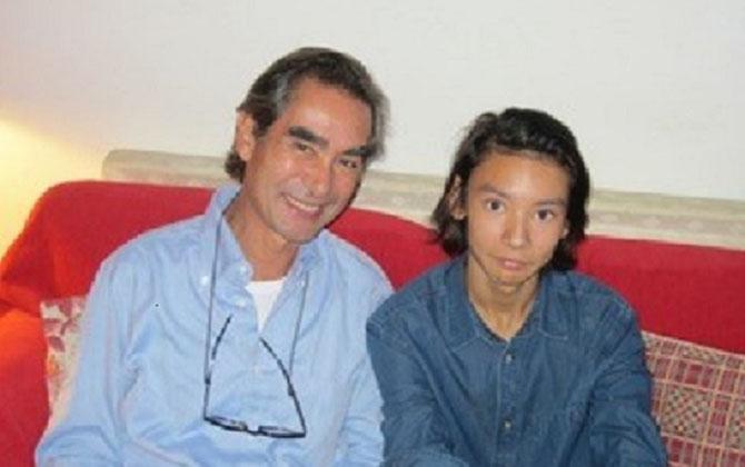 L'AMOUR EN HERITAGE ......ANICET DUBONNET, né de VIRGINIA SUN en 1963 avec  son fils MARIUS ANDRE  né en 2000 de VERONIQUE BORDIER,  frère de ROXANE 1997 et de FANTINE 2007