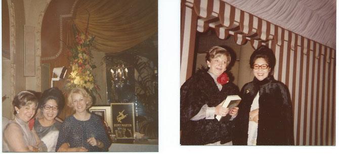 Avec Nicole Pantalacci et l'épouse de Claude Linget ..       Avec Nicole Pantalacci (photo de droite)