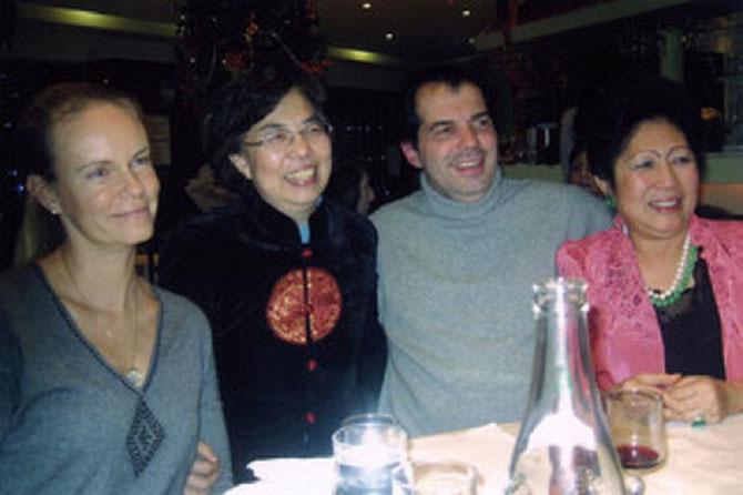 Année du Dragon 2012 S.A.R Constance Princesse de Bourbon, Princesse de Parme et Lucie LI Xiaohong