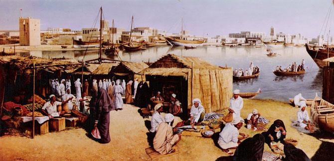 DUBAI  1958 : ANNEE  où SHEIKH RACHID  II SUCCEDE à SON PERE L'EMIR SAEED AL MAKTOUM
