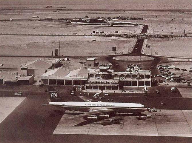 AEROPORT DUBAI 1970