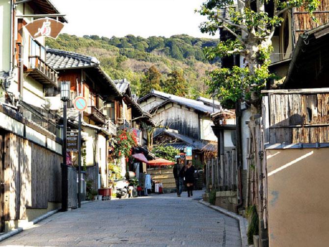 HIGASHIYAMA-KU : Un des 11 districts de KYOTO. créé en 1929 lorsqu'il est détaché de Shimogyô- ku