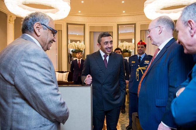 Londres 27 Nov. 2017 . Inauguration nouvelle Ambassade des E.A.U