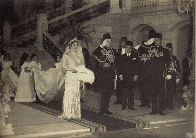20 JANVIER 1938. MARIAGE AU PALAIS EL KOUBBA.