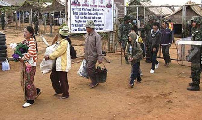 UN DECHIREMENT.  LE RENVOI PAR LA THAILANDE DES REFIGIES VERS LE LAOS
