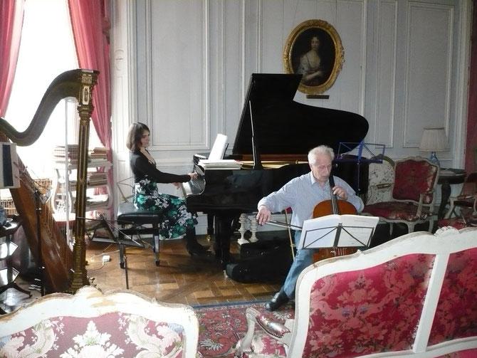 MAI 2010. ANATOLE LIEBERMANN  et ALIX FIRSOVA