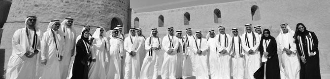 2016, LE GOUVERNEMENT DE DUBAI COMPTE 8 FEMMES DONT LUBNA AL QASIMI ENTREE EN 2004 .