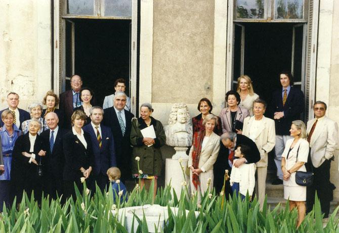 25 MAI 1995. BEZIERS. INAUGURATION DE LA SALLE MARTINE MARTINE AU MUSEE FABREGAT