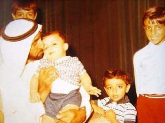Sheikh Mohammed (1961),  Sheikh Tahnoon 1968), Sheikh Mansour (1970) Sheikh Hazza (1965).