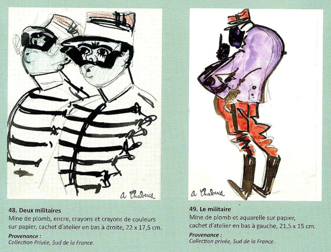 EXTRAIT CATALOGUE SEYSSAUD VERDILHAN CHABAUD GALERIE ALEXIS PENTCHEFF  Page 76. Courtesy GIULIA & ALEXIS