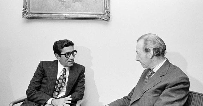NEW-YORK. Saif Saeed GHOBASH et Kurt WALDHEIM Secrétaire général  ONU 1972_1981 (1918+2007).... C* SAW LWIN