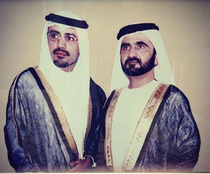 S.A L'EMIR MOHAMMED AL MAKTOUM et MOHAMMED K. AL HABTOOR.