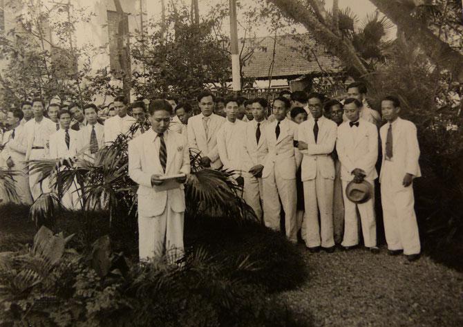 1938. HOMMAGE à VICTOR TARDIEU PAR UN DE SES ELEVES NGUYÊN NGOC NGOAN. C* NGÔ KIM-KHÔI.