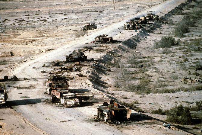 LA DEFAITE DE L'IRAK.