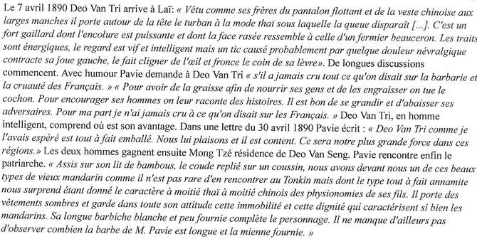 http:/pavie.culture.fr  AUGUSTE PAVIE. L'EXPLORATEUR AUX PIEDS NUS