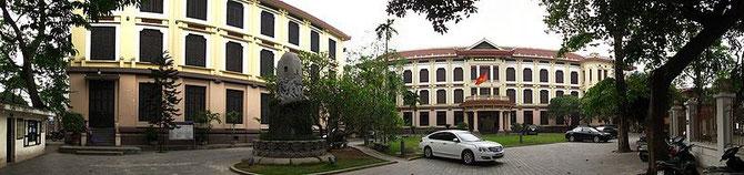 MUSEE DES BEAUX-ARTS DE HANOI, INAUGURE EN 1963 DANS UN ANCIEN COLLEGE CATHOLIQUE POUR JEUNES FILLES