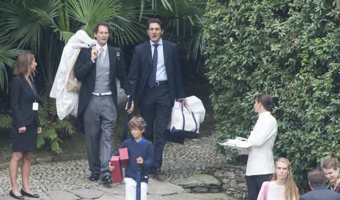 John Elkann et sa petite famille