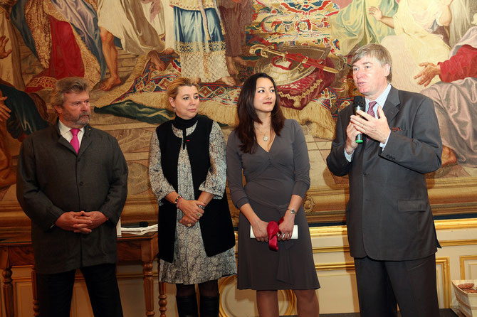 LE COMTE DENIS DE KERGORLAY, PRESIDENT ELU DU CERCLE DEPUIS 2009.