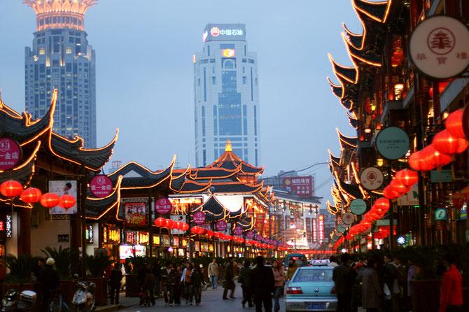 La Richesse de SHANGHAI c'est d'avoir accepté son Passé toujours bien Présent dans la ville moderne.