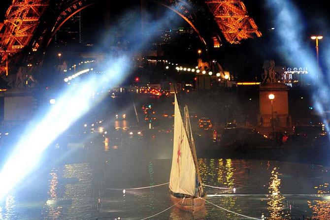 Somptueuse et magnifique inauguration de l'exposition OMAN ET LA MER, face à la tour EIFFEL