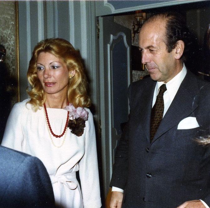 Marie-Hélène et Olivier GISCARD D'ESTAING.