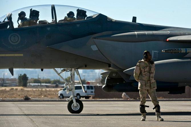 UN F15 EAGLE DE LA RSAF
