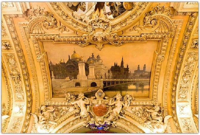 PONT ALEXANDRE III par RENE BILLOTTE (1846 Tarbes-1915 Paris). ELEVE D' EUGENE FROMENTIN (1820-1876 La Rochelle)